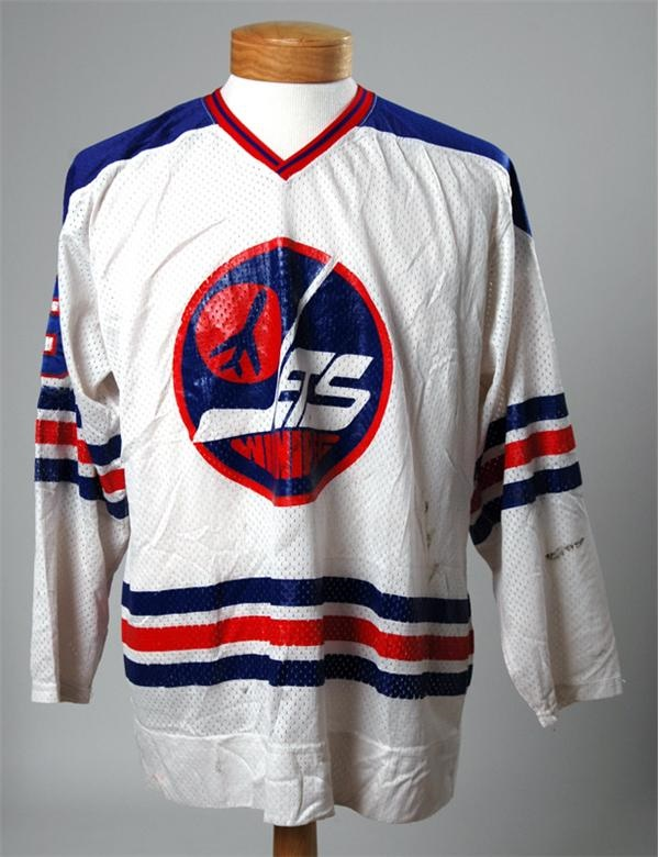 size 40 c41f3 36c81 1978 Bobby Hull WHA Winnipeg Jets Game Worn Jersey