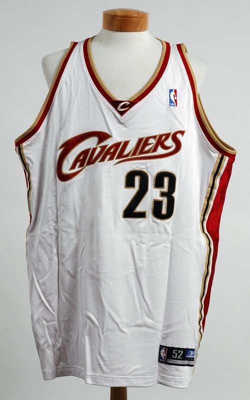 low priced cd504 1d929 2004 LeBron James Signed Olympic Team Jerseys (10)