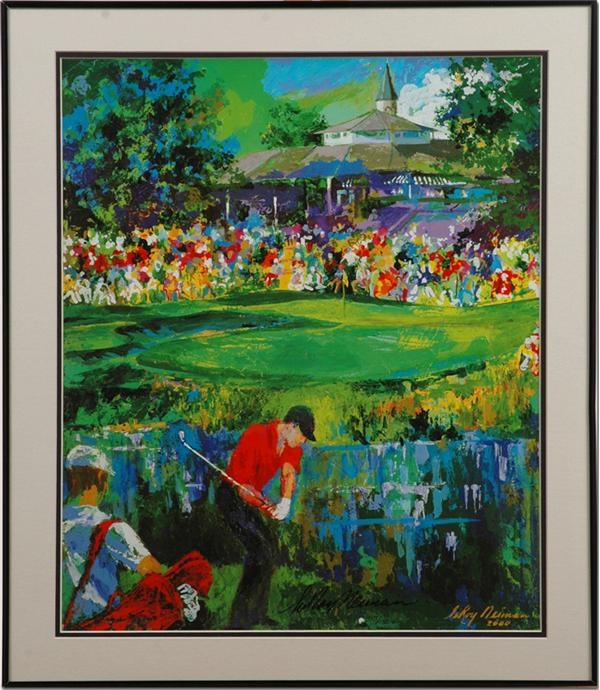 Tiger Woods Limited Edition Prints Signed by Leroy Neiman (29)