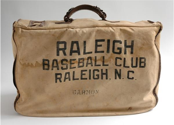 1940s Raleigh BBC Baseball Equipment Bag
