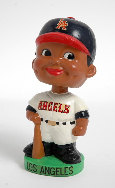 1962 L.A. Angels Black Face Bobbin' Head