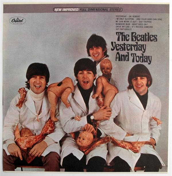 Beatles Butcher Cover Album Slick