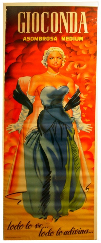 1940s Life Size Magic Poster