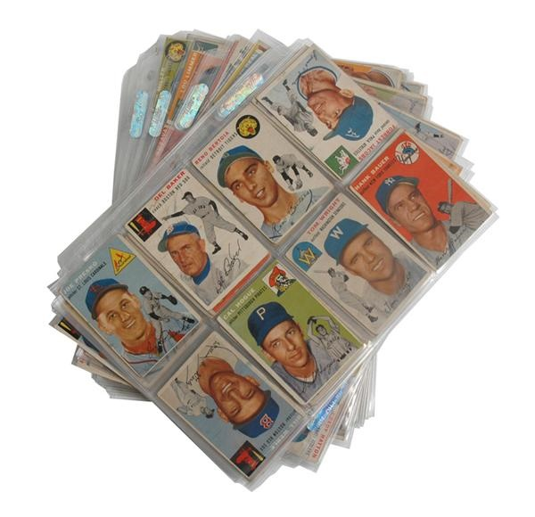 1954 Topps Baseball Lot (159)