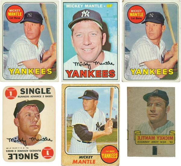 Mickey Mantle Baseball Card Collection (7)