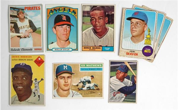 1948-79 Collection of Assorted Stars and Hall of Famers (37)