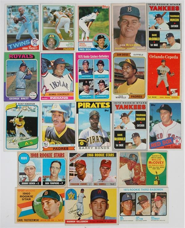 1950s-80s Signifigant Baseball Rookie Collection (59)