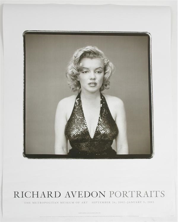Marilyn Monroe Richard Avedon Portraits Poster