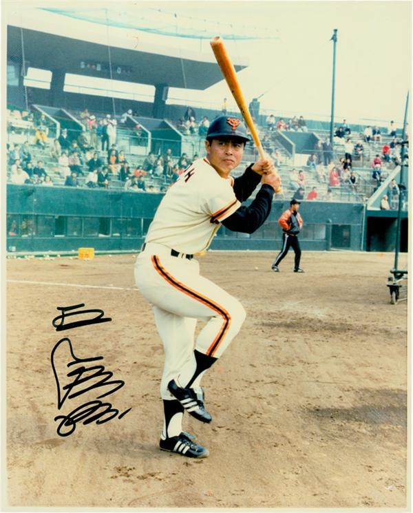 Sadaharu Oh Signed Photo
