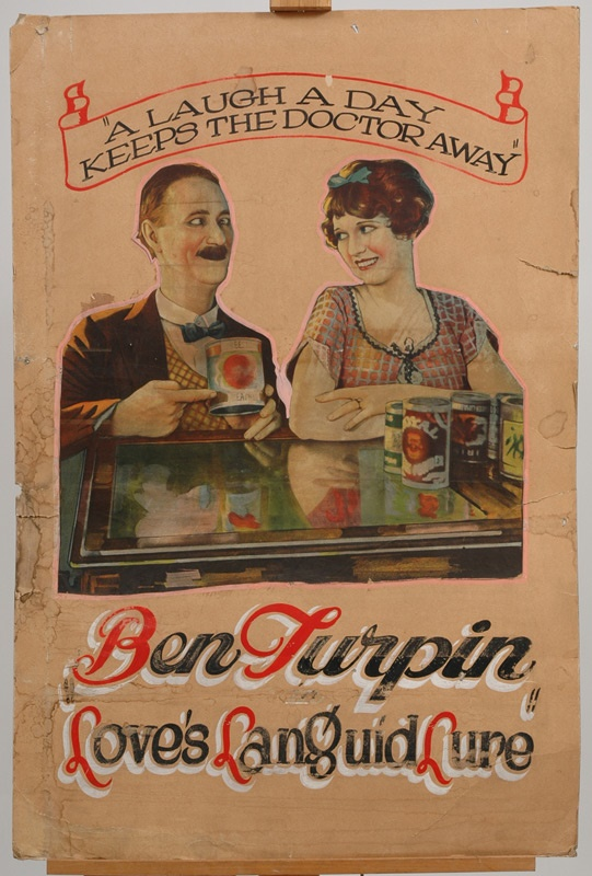 Ben Turpin Advertising Piece