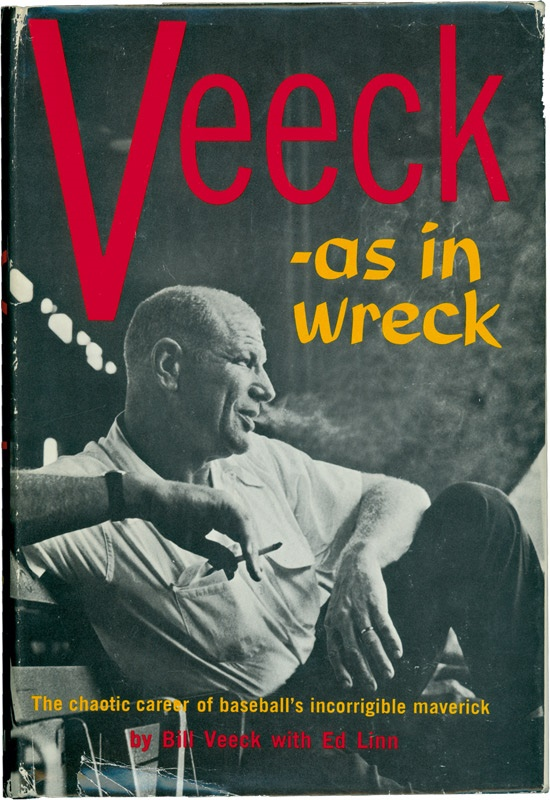 Bill Veeck Autographed Biography