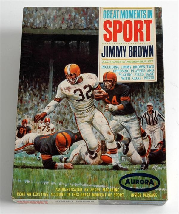 Aurora Jim Brown 1965 Model Kit