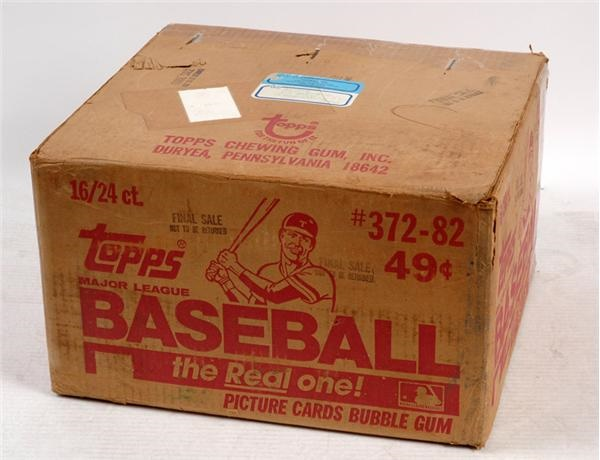 1982 Topps Baseball Cello Case (Ripken) (16 boxes)