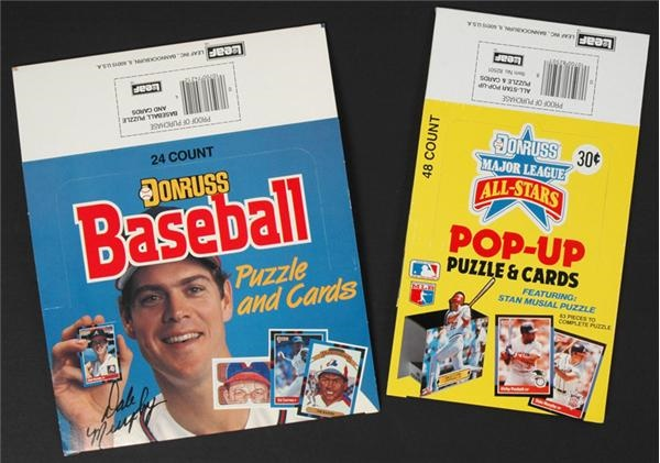 1988 Donruss Display Box Collection (240)