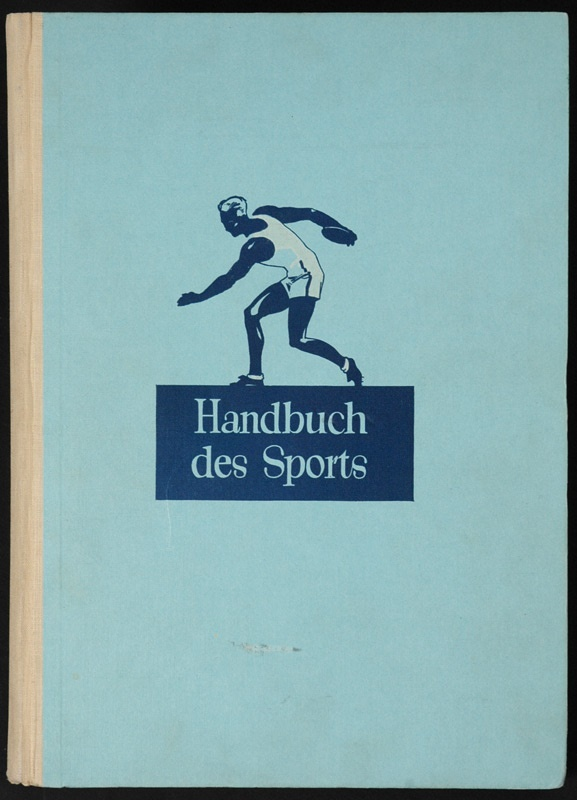 Handbuch Des Sports with Famous Sports Athletes from Sanella Margarine