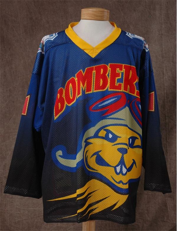 1993-94 ECHL Dayton Bombers Game Issued Jersey