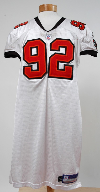 2003 Anthony McFarland Game Used Buccaneers Jersey