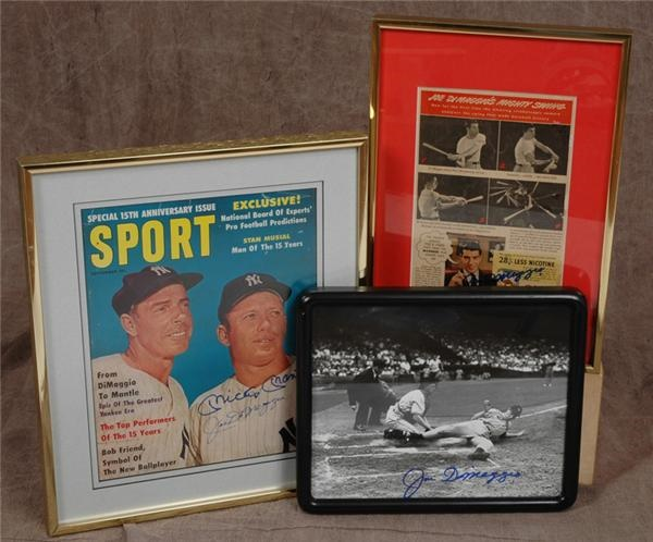 Sports Autographs - September 2005 - Sports Collectors'