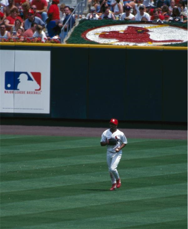 On The Field - Busch Stadium Farewell