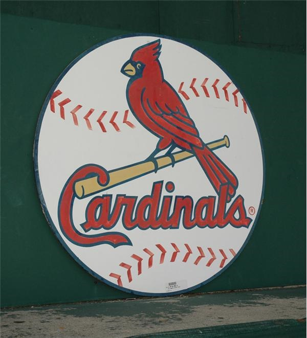St. Louis Cardinals Sign from Upper Deck World Champions Section