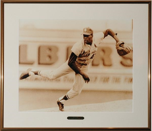 Bob Gibson Framed Photo from  Cardinals' Club