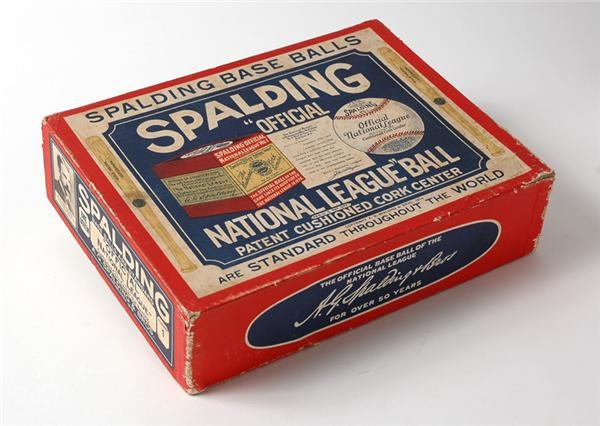 Official Spalding National League Ball (12 Count) Box