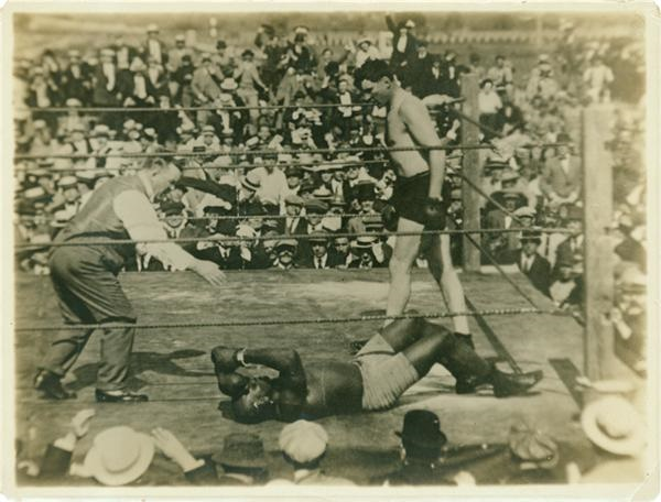 Jack Johnson Fight Photo