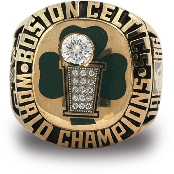 1986 Boston Celtics NBA Championship Ring
