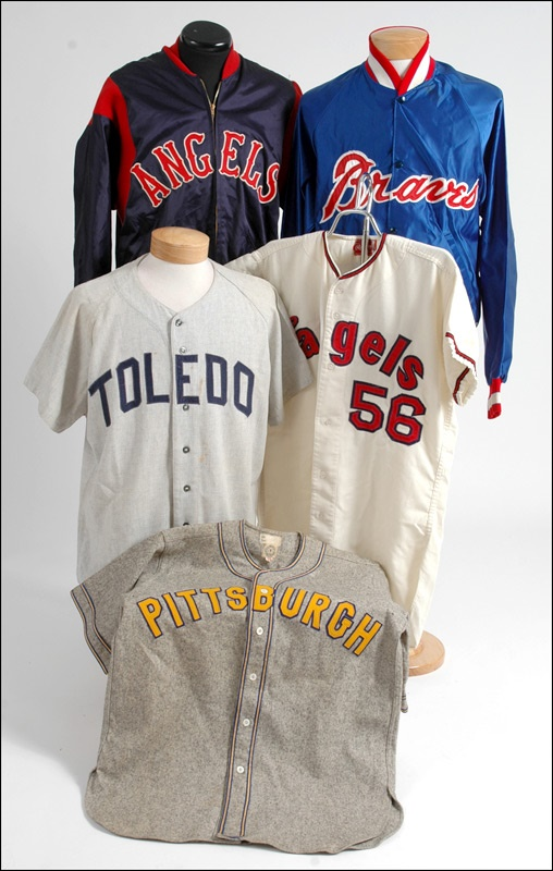 new style 936bb 9909c Vintage Baseball Jersey And Jackets Game Worn Collection Of Five