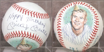 Mickey Mantle - auction