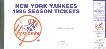 NY Yankees, Giants & Mets - April 2001