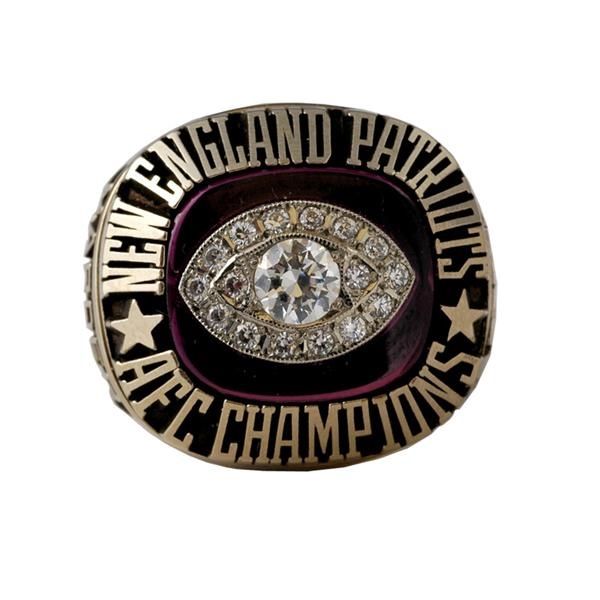 1985 New England Patriots A.F.C. Champions Ring
