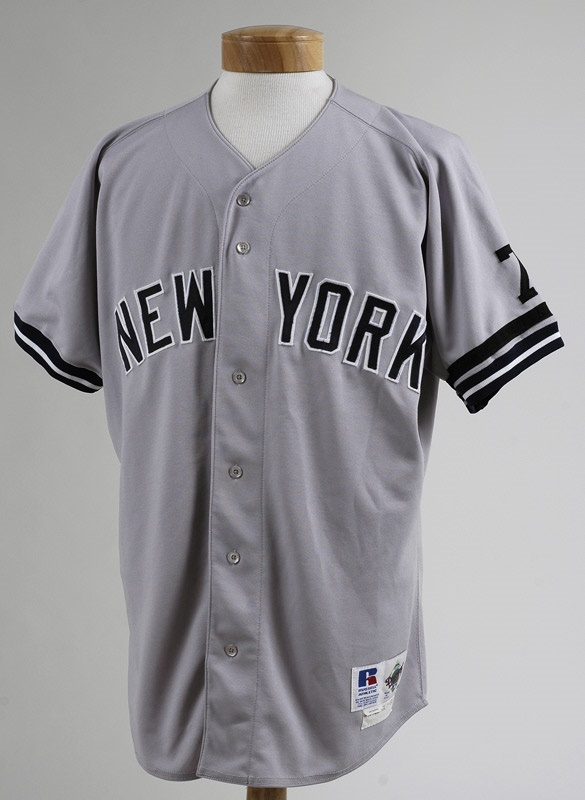 newest collection 0ba06 0b84c 1995 Don Mattingly Game Worn New York Yankees Jersey