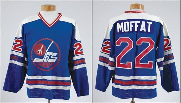 wholesale dealer f9088 c16ad 1978-79 Lyle Moffat Winnipeg Jets WHA Jersey