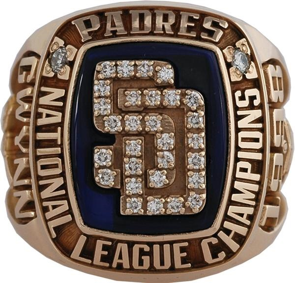 1998 San Diego Padres National League Championship Ring