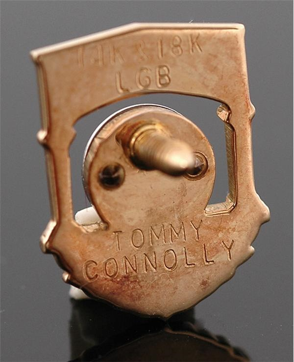 Tommy Connolly's Baseball Hall Of Fame Induction Pin