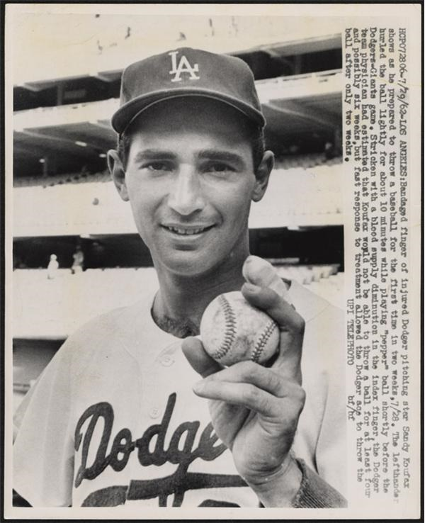 Sandy Koufax - Summer/August 2006 Catalog