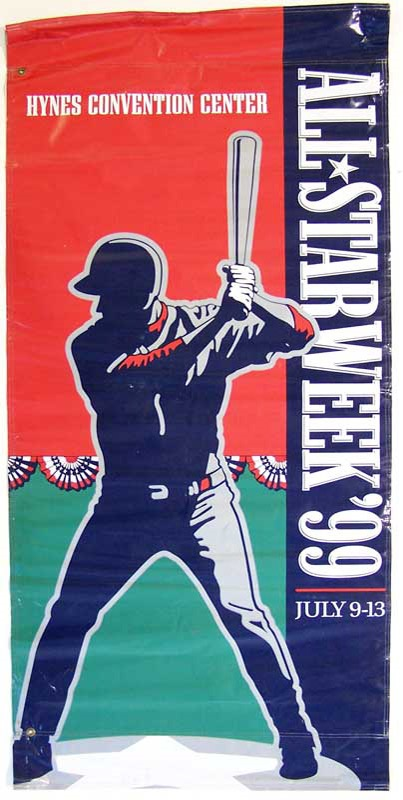 1999 Fenway Park All-Star Game Banner