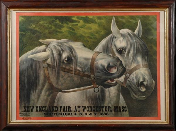 1888 New England Fair Lithograph