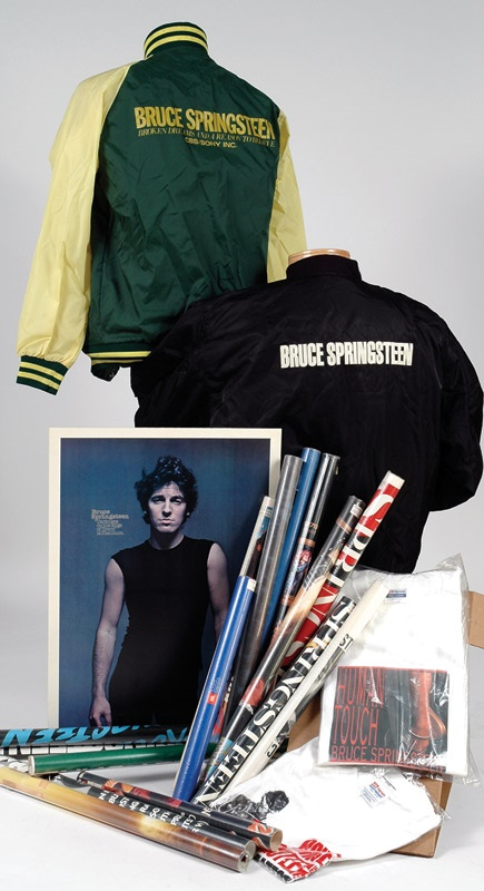 Bruce Springsteen U.S. and Foreign Promo Collection (21 pieces)
