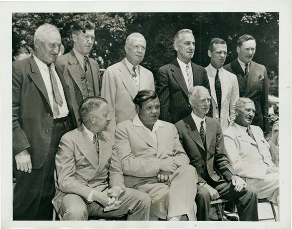 1939 Hall Of Fame Opening Wire Photo (8X10