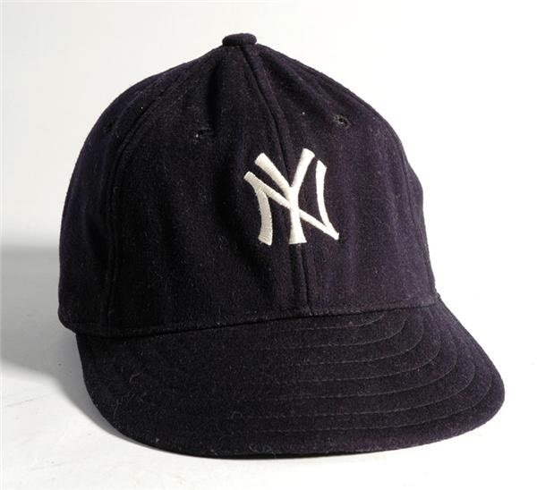 Red Ruffing Game Worn New York Yankees Cap
