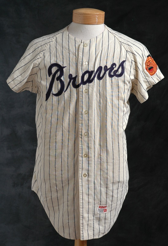 1968 Atlanta Braves Game Worn Ball Boy Jersey