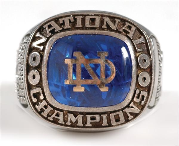 1973 Notre Dame National Champions Football Ring