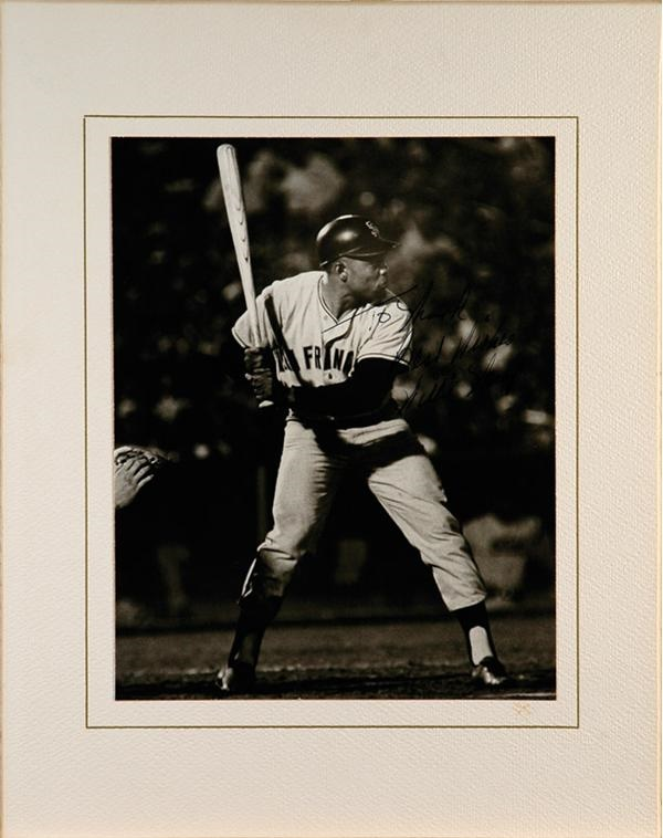 Willie Mays Vintage Signed Photo (8x10