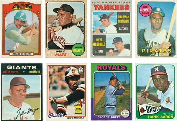 Collection of 1960's -1970's O-Pee-Chee Stars and Hall of Famers (14)