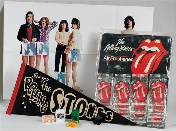 Collection of Rolling Stones Memorabilia