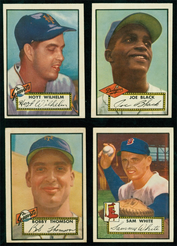 Collection of 1952 Topps High Numbers (39)
