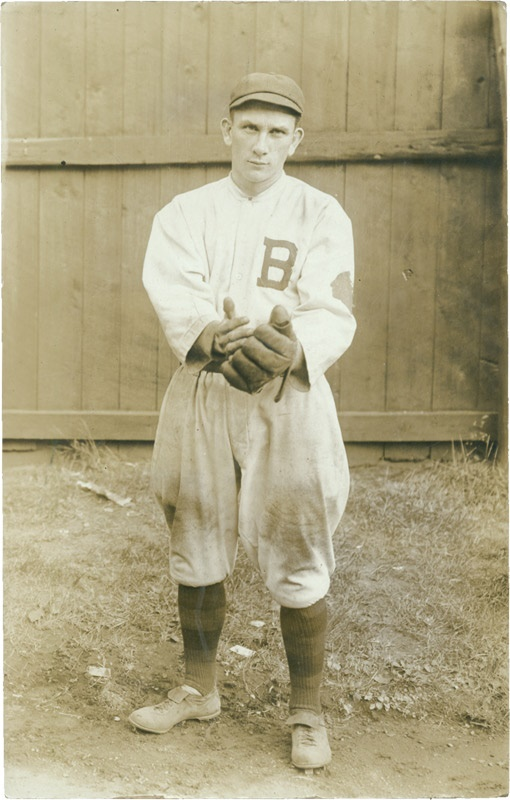 Rabbit Maranville Miracle Braves Real Photo Postcard