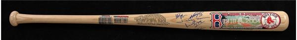 2004 Boston Red Sox Signed Cooperstown Bat Company